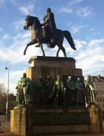 Denkmal für König Friedrich Wilhelm III. auf dem Heumarkt